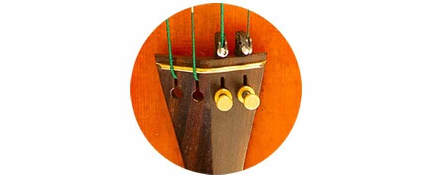 Feinstimmung der Geige