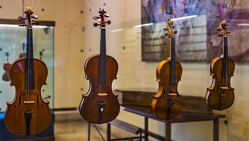 Die Geschichte der Geige
