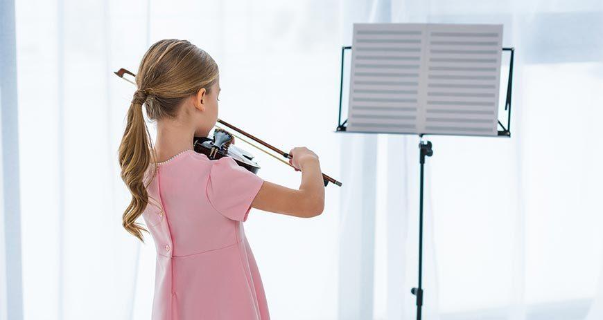 Kinder sollten Geige lernen