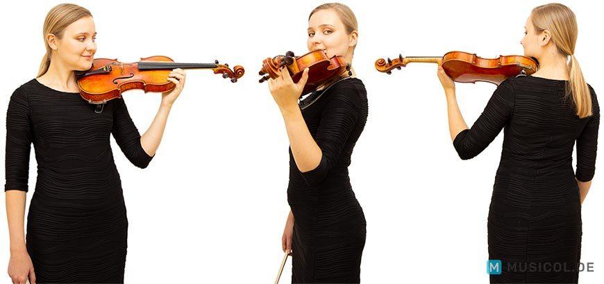 Geige lernen: Die richtige Körperhaltung ist entscheiden für beste Ergebnisse
